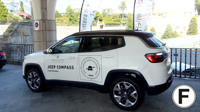 Jeep Compass - Fiateira Motor, - Hotel NH Collection A Coruña Finisterre